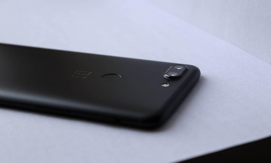 Caméra arrière d'un smartphone